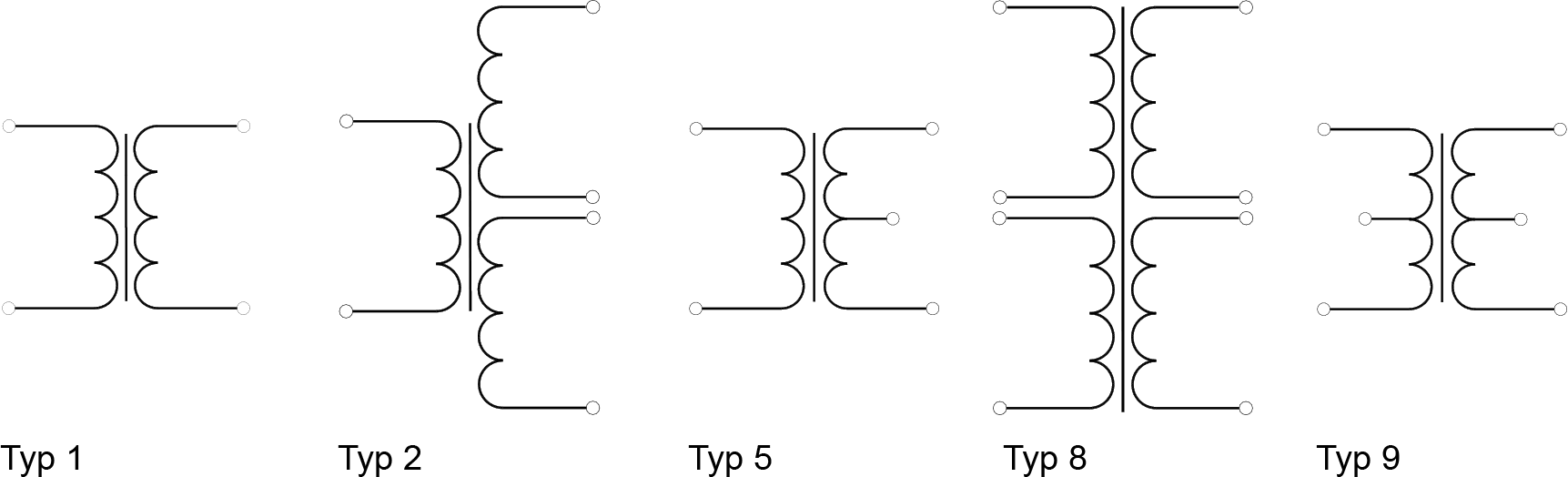 Schaltbilder-SMD-Ringkernuebertrager